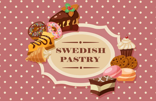 Swedish Pastry från Sverige